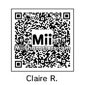 QR Code for Claire Redfield by grferner