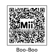 QR Code for Boo-Boo Bear by **Austin**