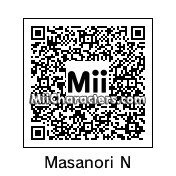 QR Code for Masanori Nagakawa by Larsenv