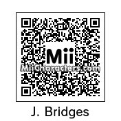 QR Code for Jeff Bridges by AnthonyIMAX3D