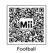 QR Code for Football Player by J.R.