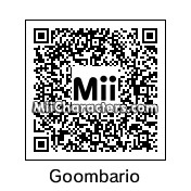 QR Code for Goombario by Mii Central