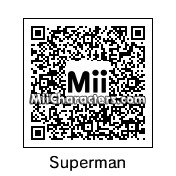 QR Code for Superman by B1LL