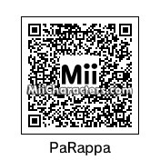 QR Code for PaRappa The Rapper by BubsyTheBobcat