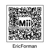 QR Code for Eric Forman by Superman