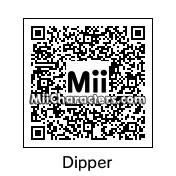 QR Code for Dipper Pines by ChelseaHedgeho