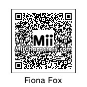 QR Code for Fiona Fox by ChelseaHedgeho