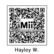 QR Code for Hayley Williams by Juliis Miis