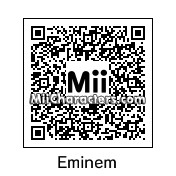 QR Code for Eminem by Juliis Miis