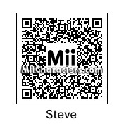 QR Code for Steve by a guy