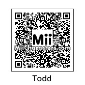 QR Code for Todd by Cousin Randy