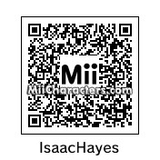 QR Code for Isaac Hayes by Davey