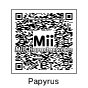 QR Code for Papyrus by Micjoeson