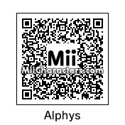 QR Code for Alphys by Micjoeson