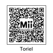 QR Code for Toriel by Micjoeson