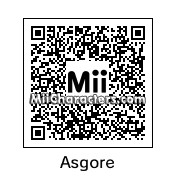 QR Code for Asgore by Micjoeson