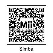 QR Code for Baby Simba by Cpt Kangru