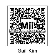 QR Code for Gail Kim by HHH
