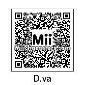QR Code for D.Va by Delam