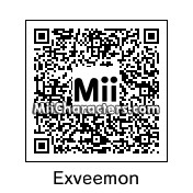 QR Code for Exveemon by ToBeMii