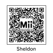 QR Code for Dr. Sheldon Cooper by a guy