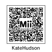 QR Code for Kate Hudson by Ajay
