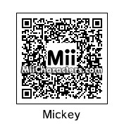QR Code for Mickey Mouse by Chadtronic