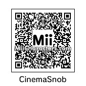 QR Code for Cinema Snob by Mahmus