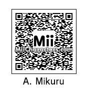 QR Code for Mikuru Asahina by HikuZ