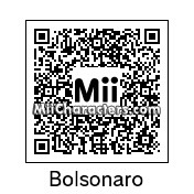 QR Code for Jair Bolsonaro by HikuZ
