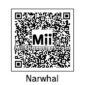 QR Code for Narwhal by CatLoverEvin