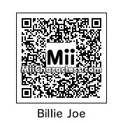 QR Code for Billie Joe Armstrong by Dripples
