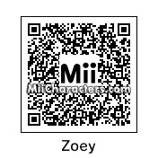 QR Code for Zoey by rhythmclock