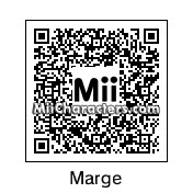 QR Code for Marge Simpson by JJrocks
