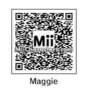QR Code for Maggie Simpson by JJrocks