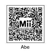 QR Code for Abe by Sans