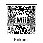 QR Code for Kokona Haruka by ChandaFood