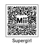 QR Code for Supergirl by The G Flash