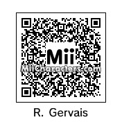 QR Code for Ricky Gervais by Tocci
