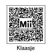 QR Code for Klaasje Meijer by PoketendoNL