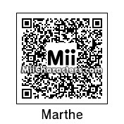 QR Code for Marthe De Pillecyn by PoketendoNL