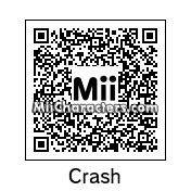 QR Code for Crash Bandicoot by CrazyCaleb12