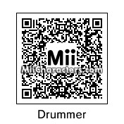 QR Code for Drummer by Carol