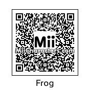 QR Code for Frog by Ginome