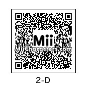 QR Code for 2-D by Nice m8