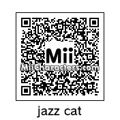 QR Code for Jazz the Cat by jellybabies