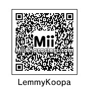 QR Code for Lemmy Koopa by Wendy O. K
