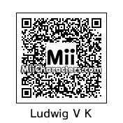 QR Code for Ludwig Von Koopa by Wendy O. K