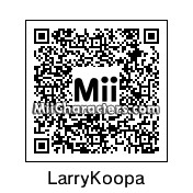 QR Code for Larry Koopa by Wendy O. K