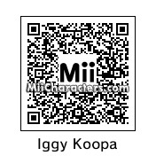 QR Code for Iggy Koopa by Wendy O. K